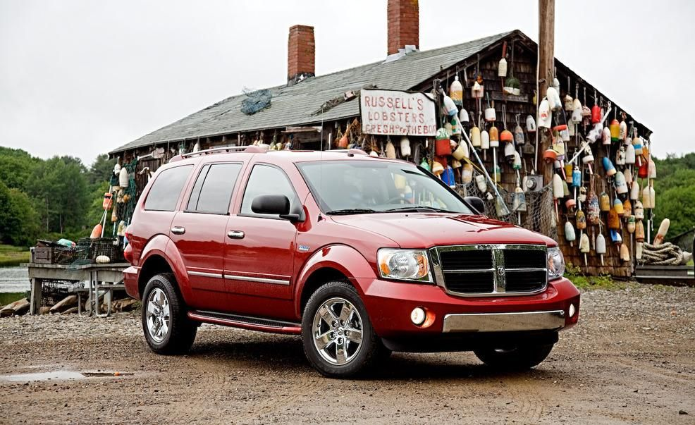 2009 Dodge Durango Hybrid Pictures Photo Gallery Car And Driver Dodge Durango Dodge Durango