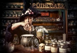 ApothecaryWitch_1500.jpg - Image by Renee Keith/Vetta/Getty Images