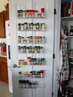 Awesome Door Spice Racks