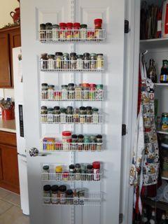 Door spice racks | Pantry | Pinterest | Door spice rack, Doors and ...