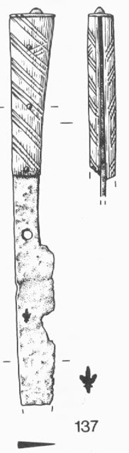 14th Century eating knife