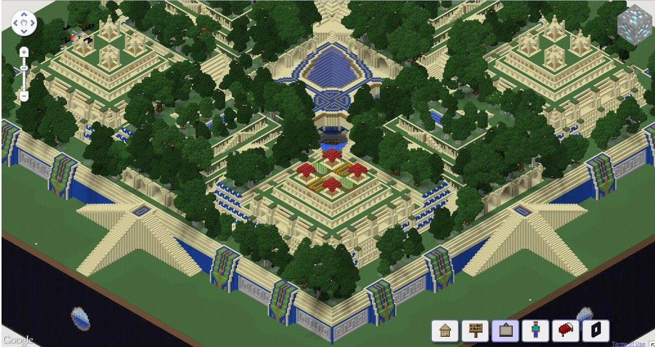 Viewing Gallery For Hanging Gardens Of Babylon Minecraft Gardens Of Babylon Hanging Garden Gallery