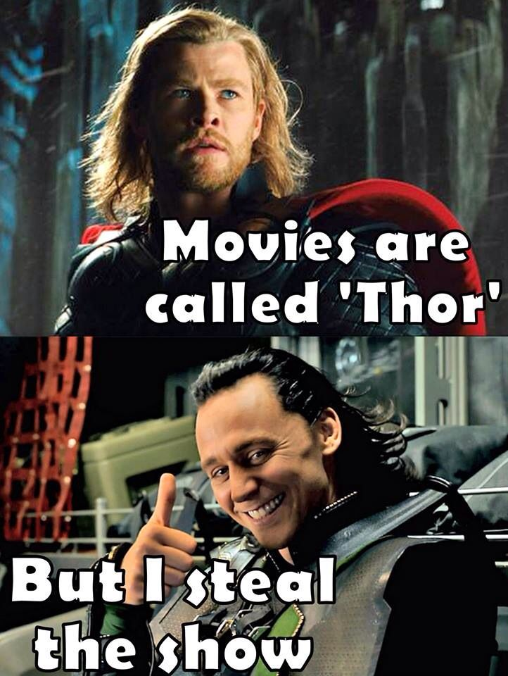 YEP. He kidnapped me away from Chris and Thor. Still love them both, but Loki and Tom own me now.