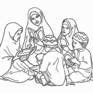 Anti Islam Activists Are Freaking Out About Crayons Now Coloring Pages Muslim Kids Clip Art Library