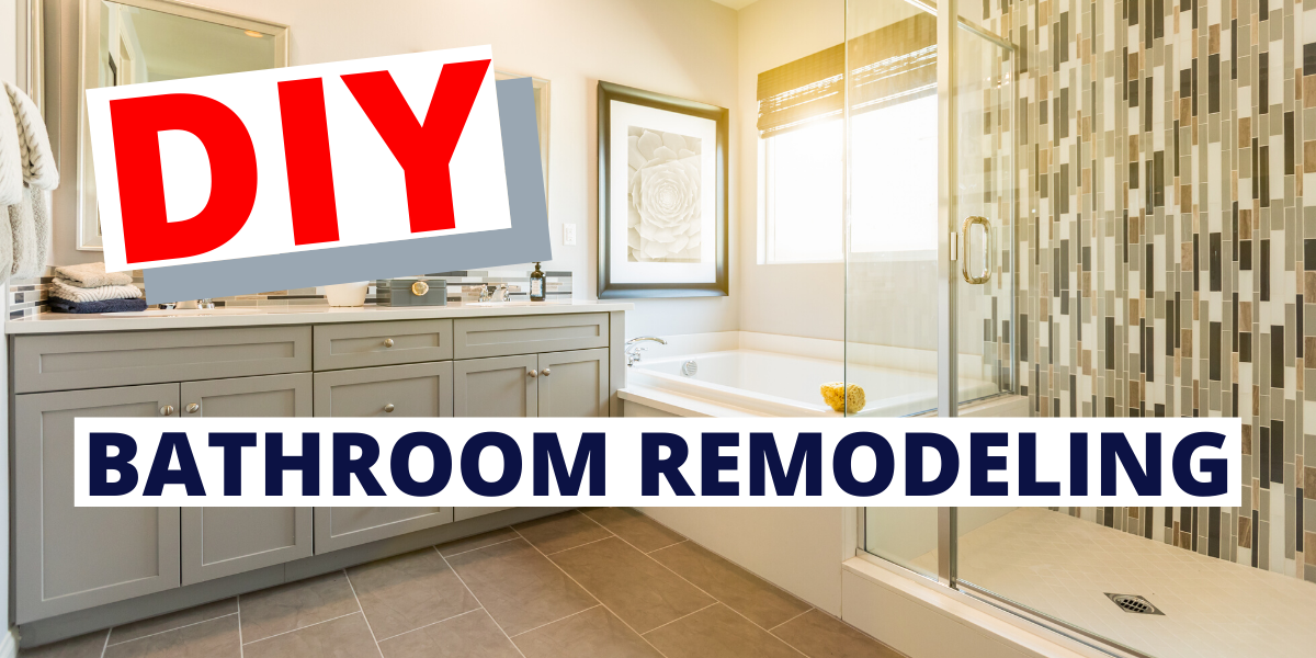 Diy Bathroom Remodeling In 2020 With