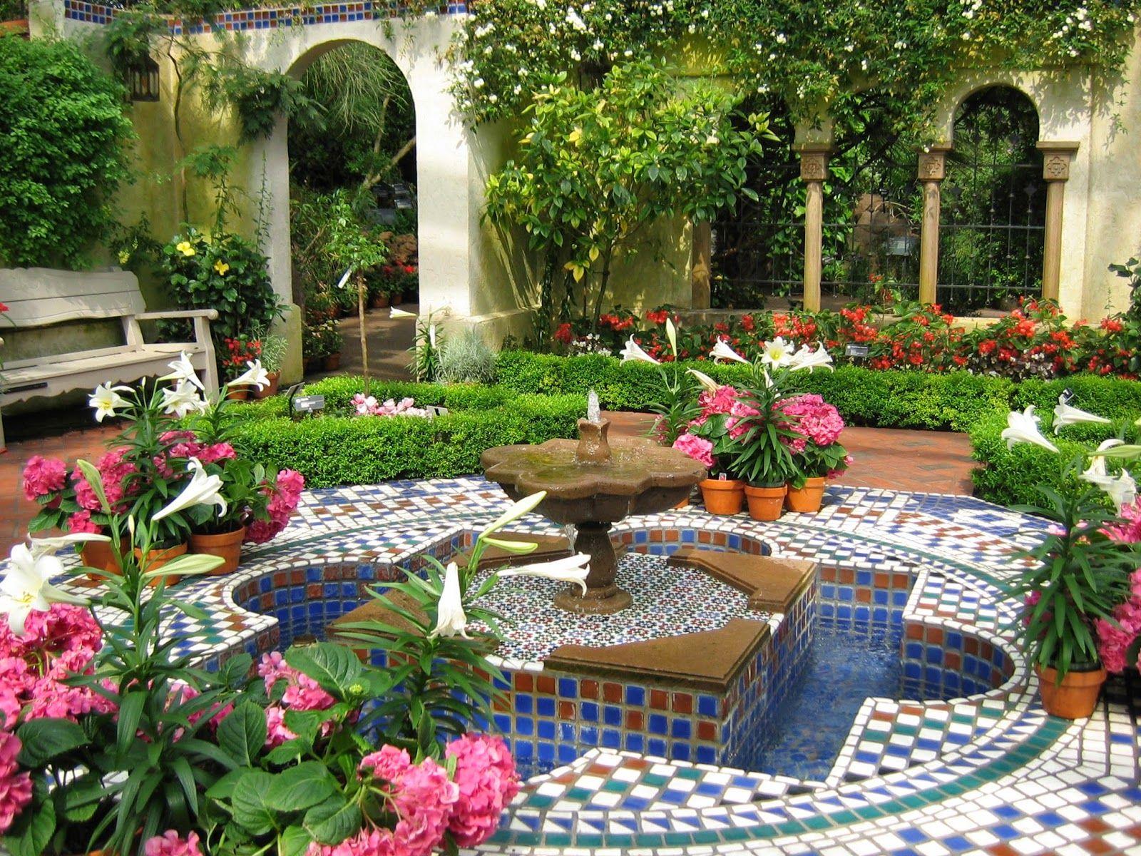 Arte y jardiner a dise o de jardines dise o de jardines - Diseno de jardines interiores ...