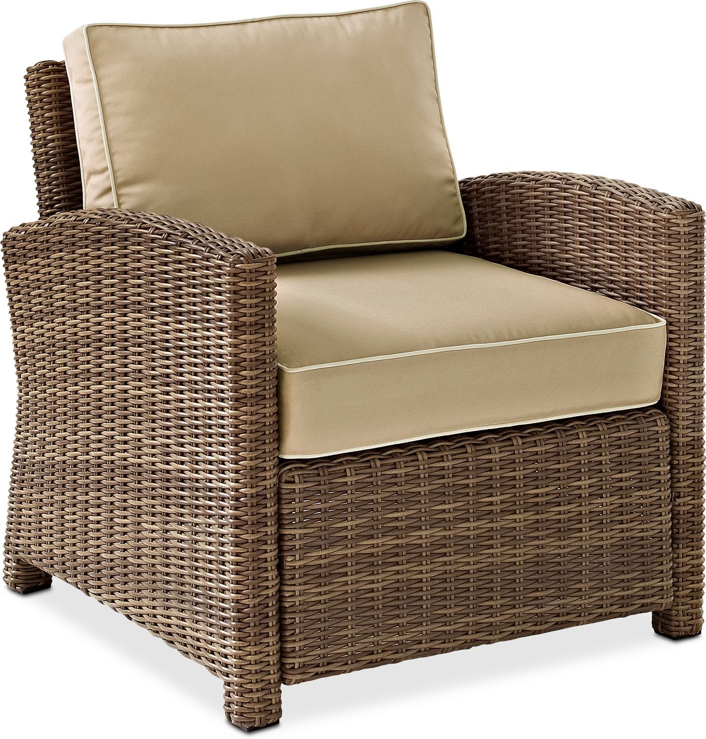 Intricate Appeal What Promises To Be The Go To Seating Of Your Deck Or Patio The Destin Outdoor Chair Is Wicker Patio Chairs Outdoor Armchair Outdoor Wicker