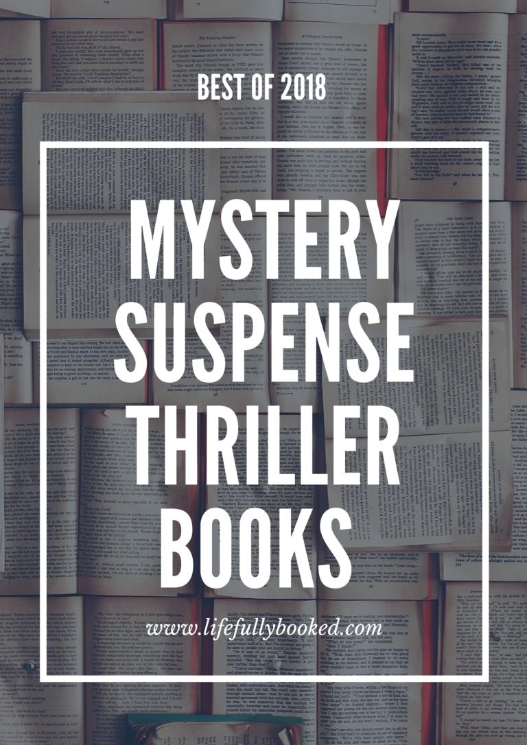 Best of 2018 Mystery/Suspense/Thriller BooksPlus