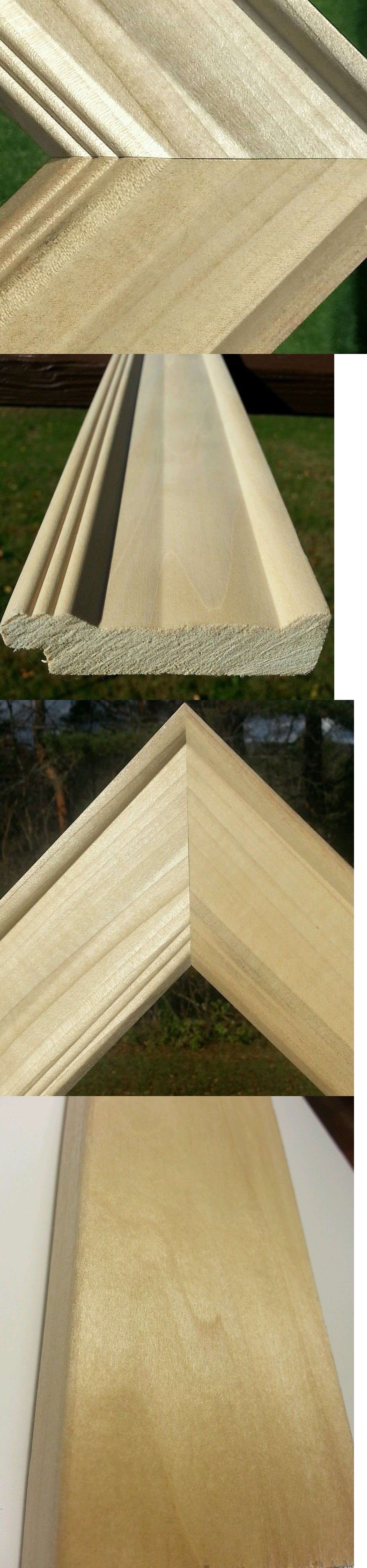 Frames and Supplies 37575: 40 Ft - Wide Raw Unfinished Wood Picture ...