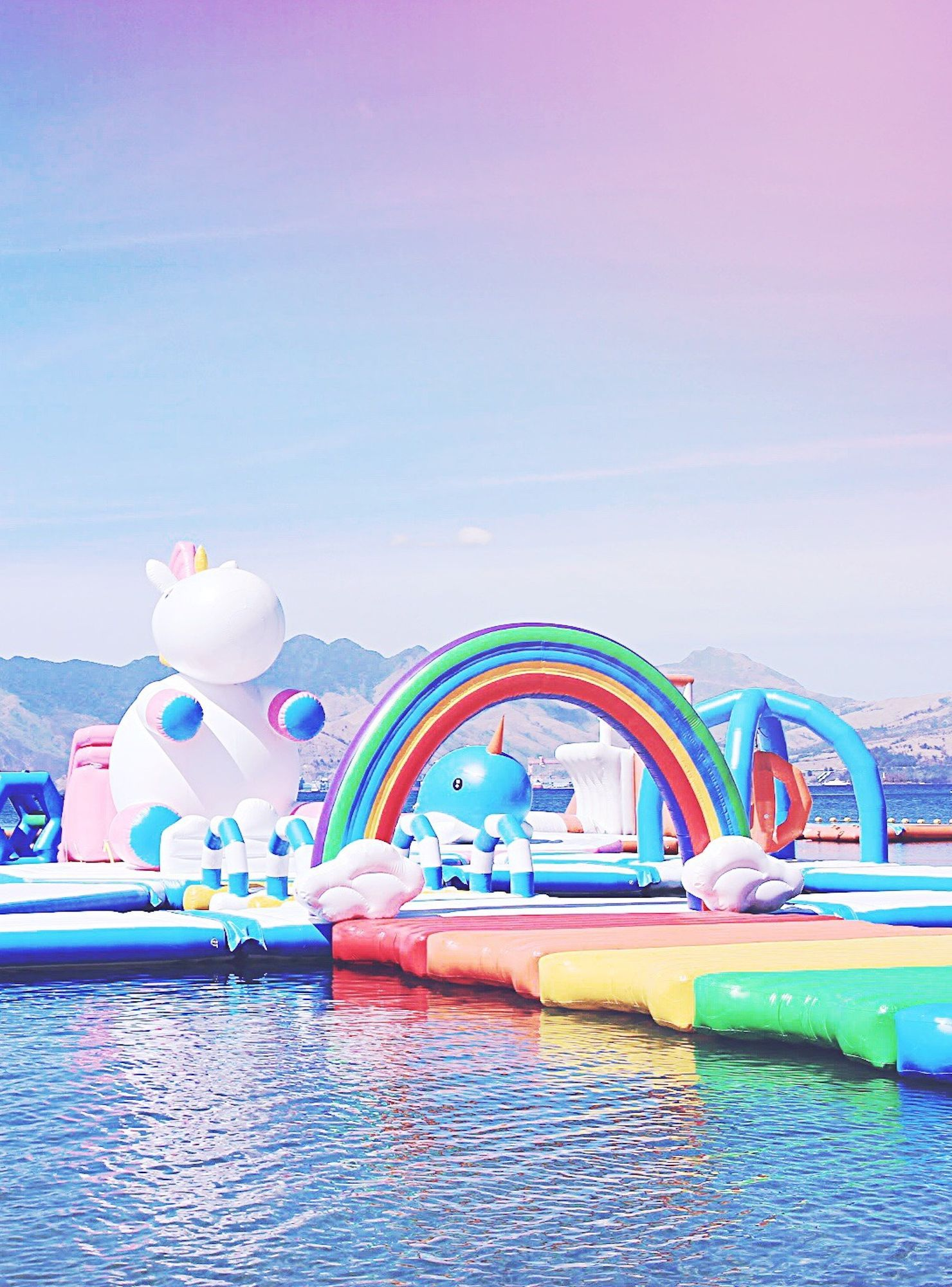 That Viral UnicornThemed Inflatable Water Park Could Be