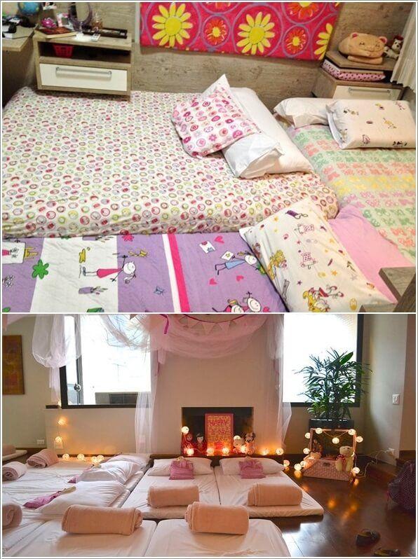 10 Super Cute Slumber Party Decor Ideas 2 | fun gift ideas ...