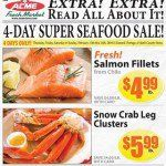 Acme Weekly Ad - Seafood Sale! | Grocery Ads | Acme markets