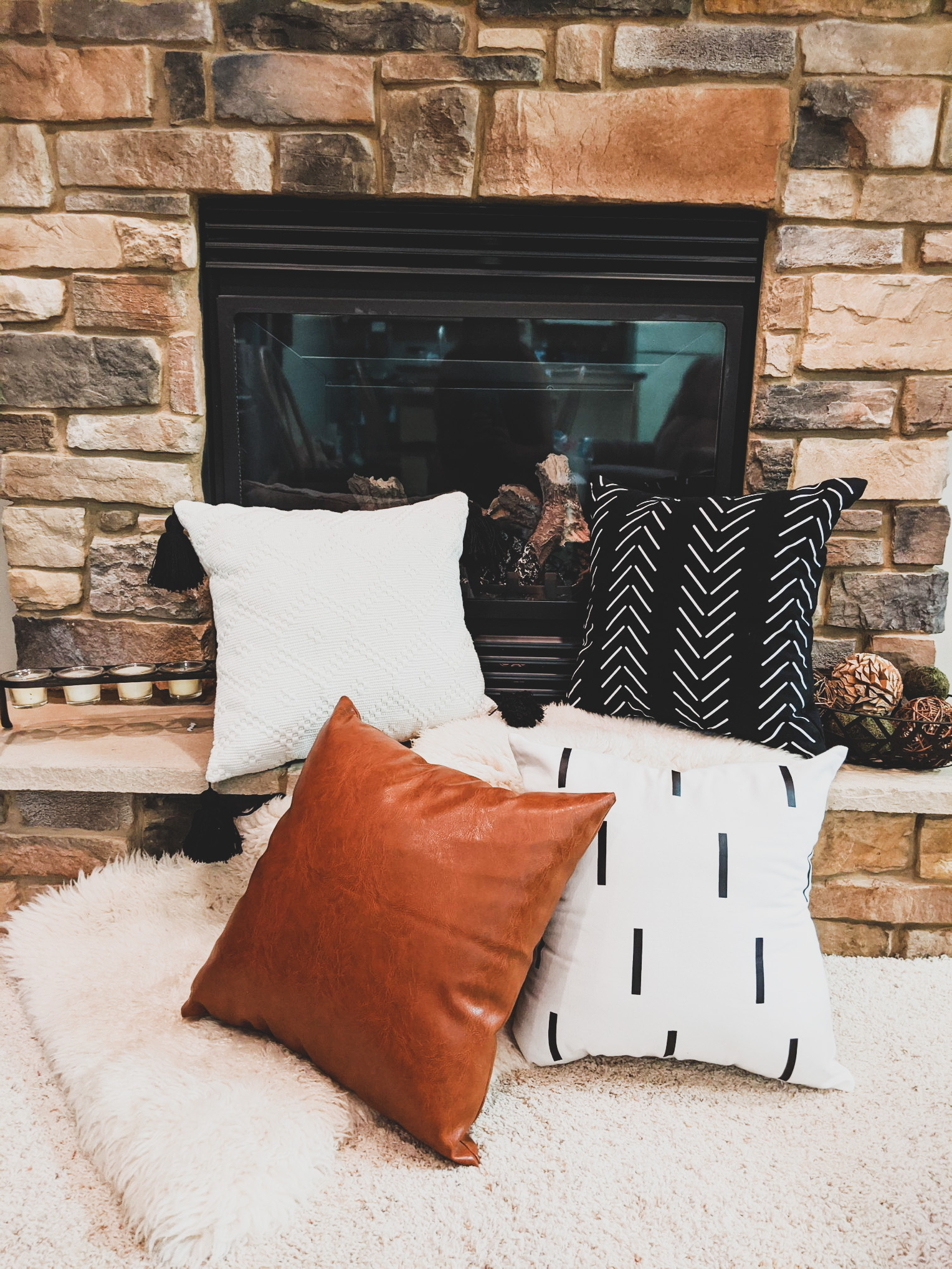 Woven Nook Pillows & Shop My Amazon Home Picks!