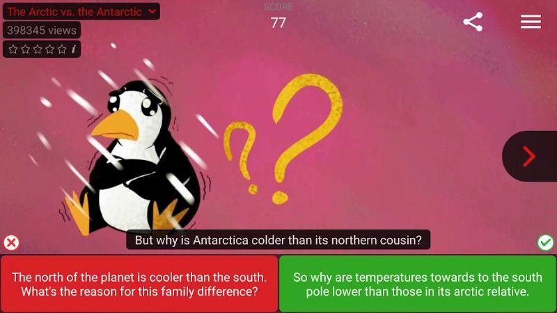تطبيق Voscreen Learn English لتعلم اللغة الانجليزية عن طريق الفيديوهات بسهولة Learn English Learning Antarctica