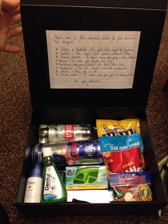 Survival Kit For The Groom And Best Man Present Gift From Bride