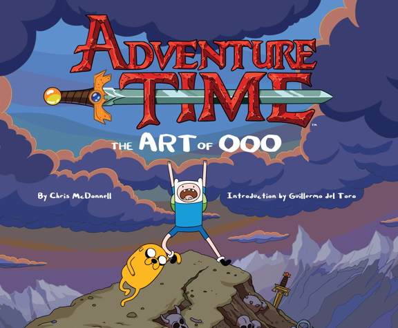 """A behind the scenes look at the """"post-apocalyptic, magical land of Ooo.""""  Learn more at GoodReads: http://www.goodreads.com/book/show/20701976-adventure-time"""