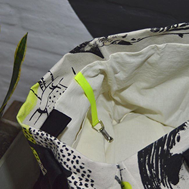 Bolso Hendrix -Amarillo fluo-