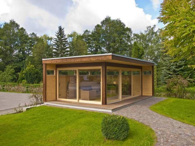 Mit isolierten Fenstern und Wänden kann dieses Gartenhaus als erweiterter…