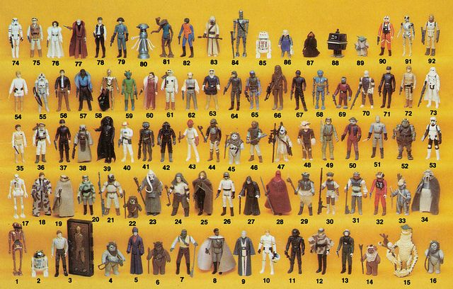 92 Back Star Wars Action Figure Poster Vintage Star Wars Toys Star Wars Action Figures Vintage Star Wars