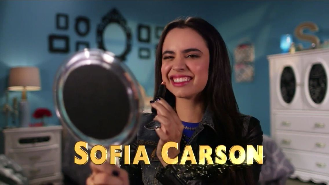 Sofia Carson from Disney descendants I  want  to see This movie