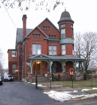 Louis Will House in Syracuse, New York.