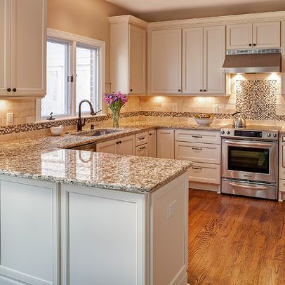 giallo napoli granite sold at lowes kitchen remodel small kitchen design small peninsula on kitchen remodel not white id=81843