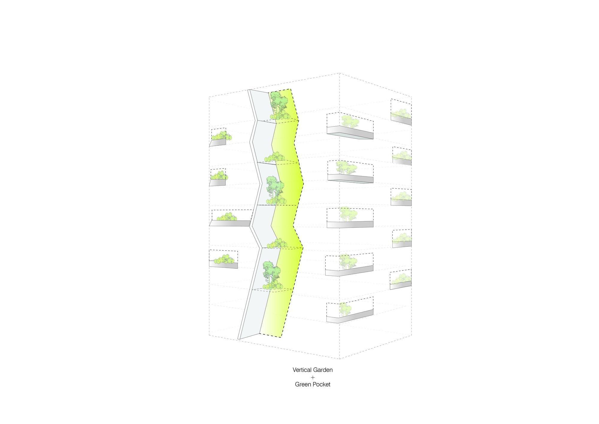 Unstudio Lisi Green Tower Architecture Living Design