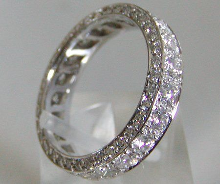 diamond wedding bands for women eternity bands love it one day - Womens Diamond Wedding Rings