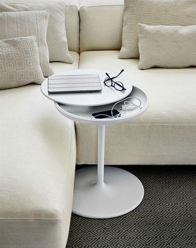 Tavolino TOI - alluminio e poliuretano - by Salvatore Indriolo - Zanotta