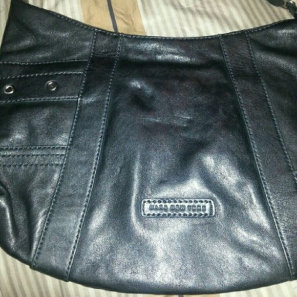 Marc new york crossbody Black real leather excellent condition Marc Jacobs Bags Crossbody Bags