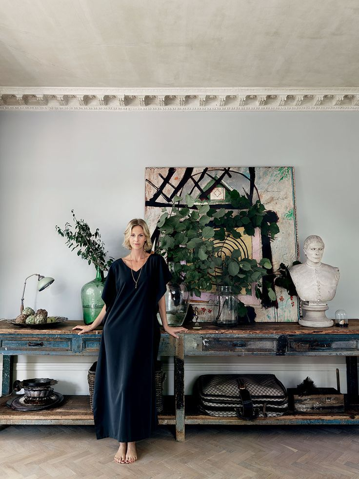 Former model and interior designer Malin Persson's home