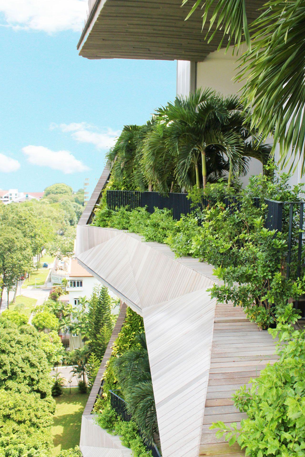 The Oliv Green architecture, Landscape architecture