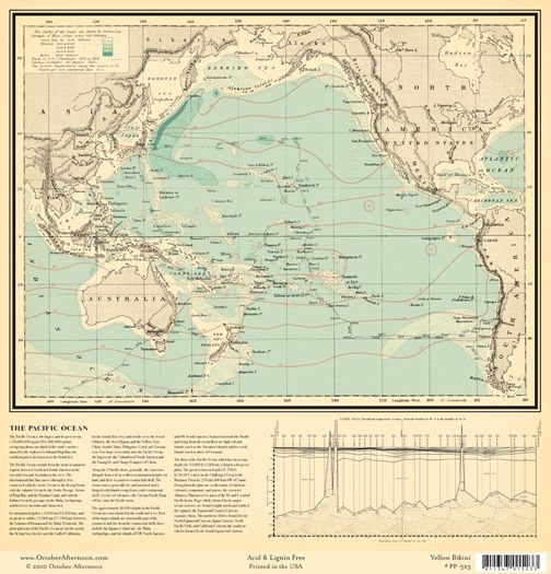 World map pacific ocean paper maps pinterest october afternoon world map pacific ocean paper gumiabroncs Gallery