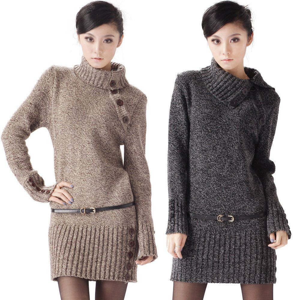 Latest-Turtleneck-Fashion-Winter-Sweater-Collection-For-Girls ...