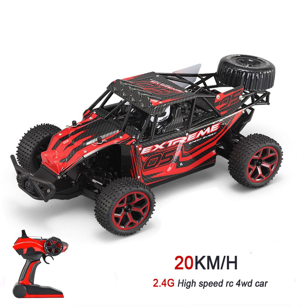 20km H 2 4g Rc Car 4wd 1 18 High Speed Off Road Buggy Remote Control Toys Machines With Batteries Super Power Ready To Run Rc Buggy Rc Cars Remote Control Toys