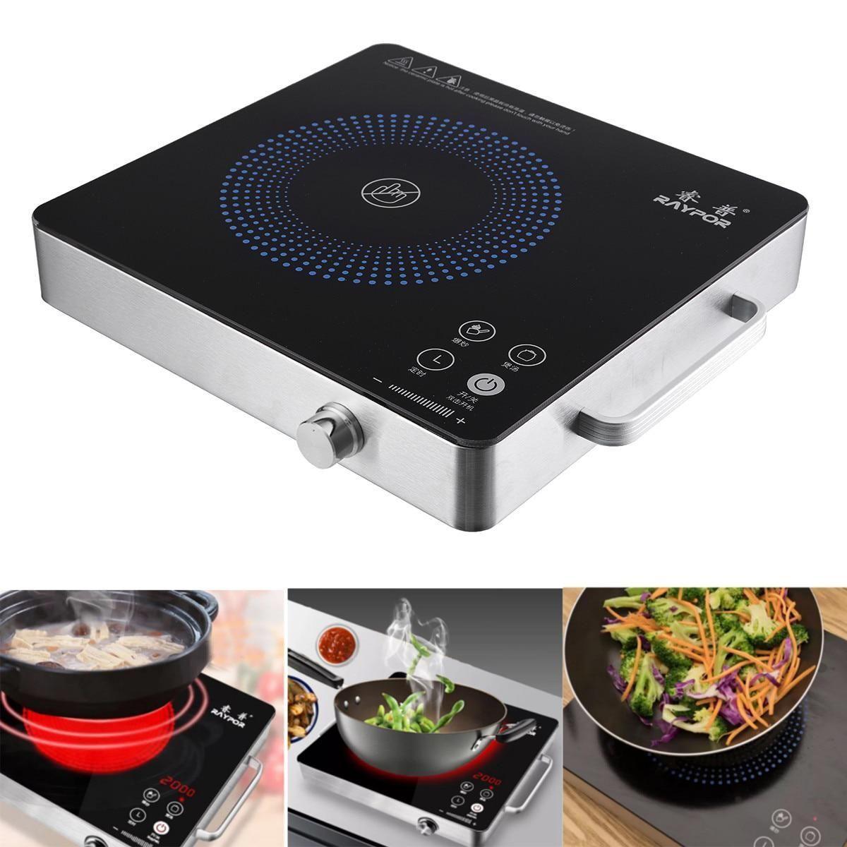 Kitchen Electric Induction Cooker Cooktop Kitchen Burner Portable