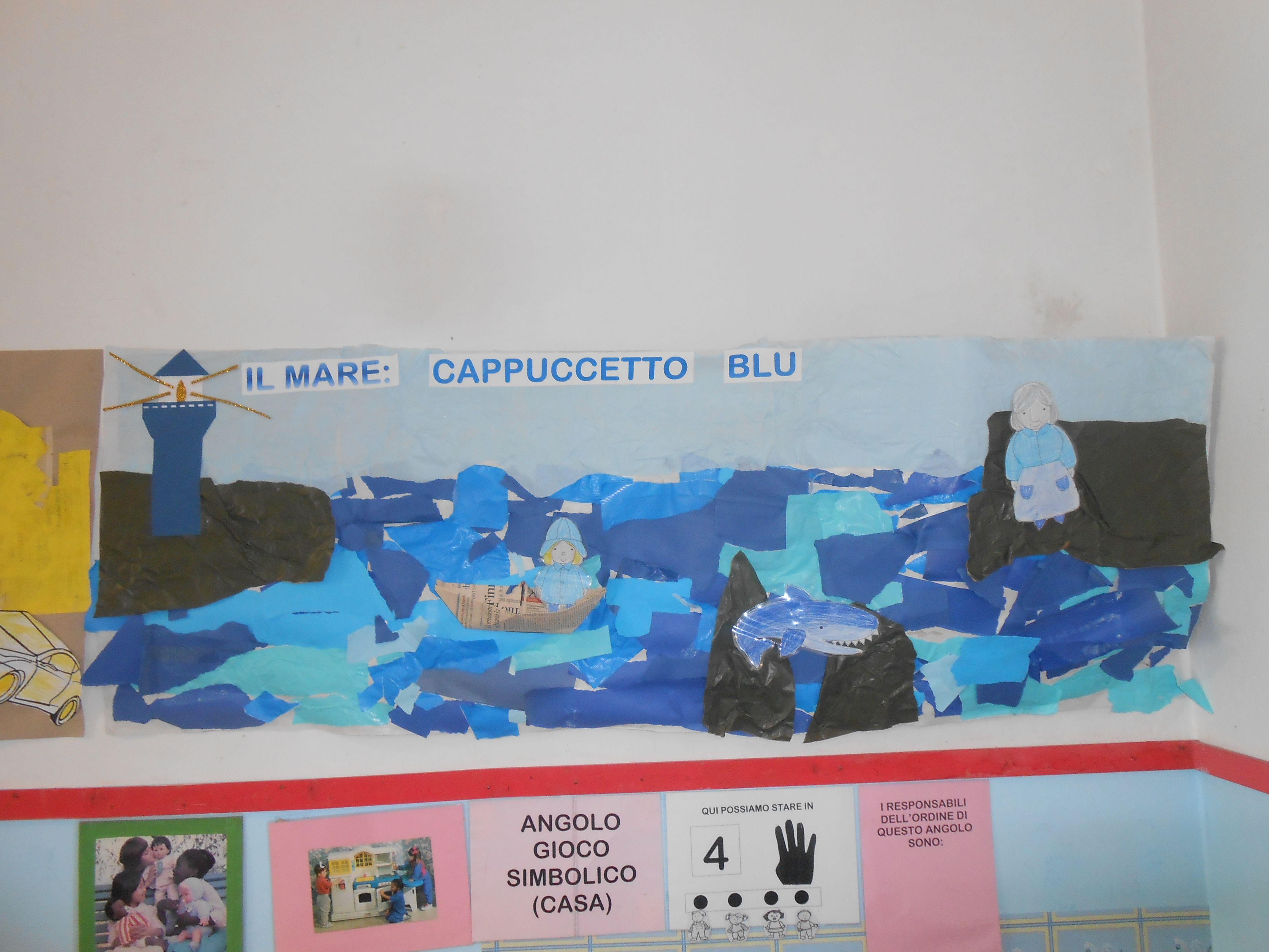 Attività Bambini ~ Cappuccetto blu cartellone attività bambini scuola infanzia