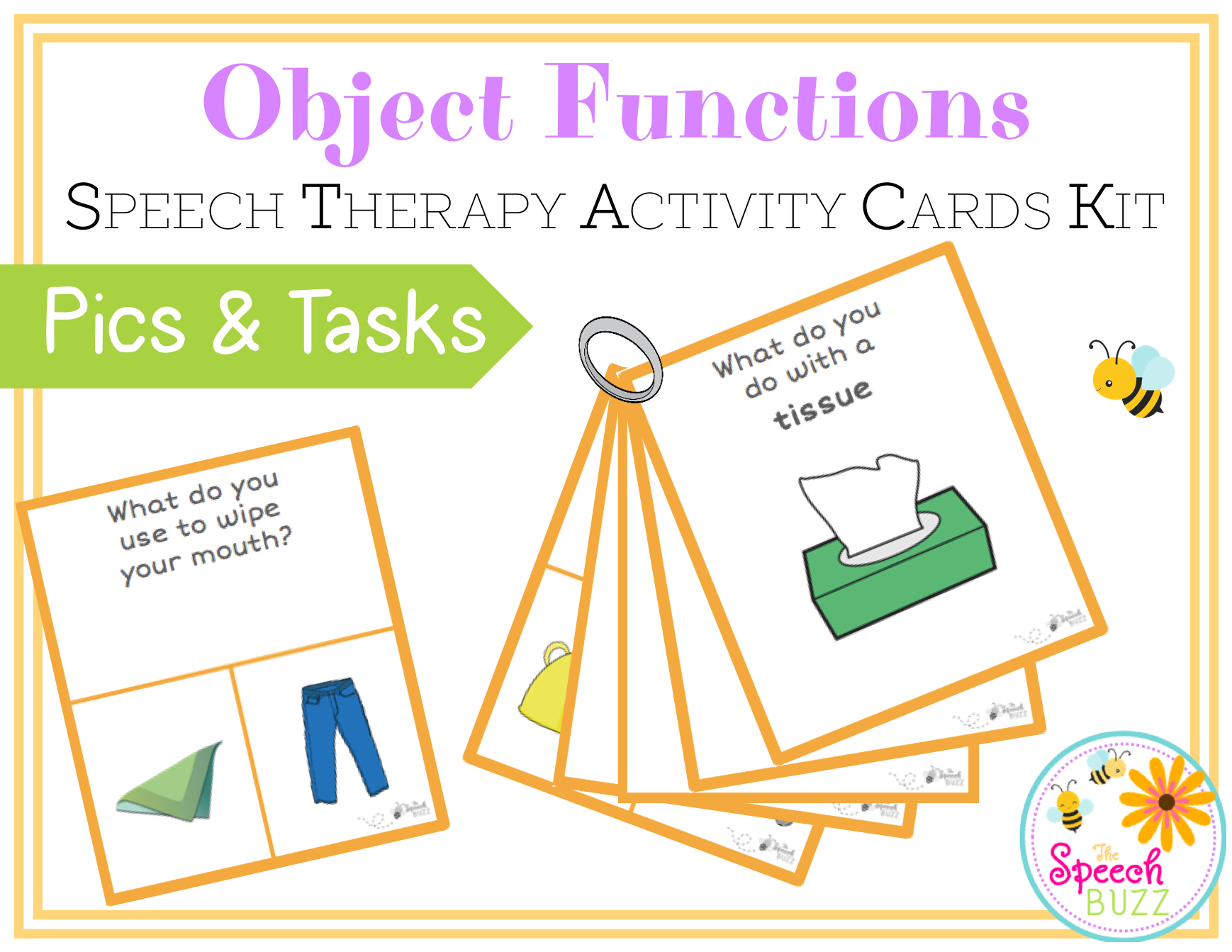 Object Functions Cards Stack