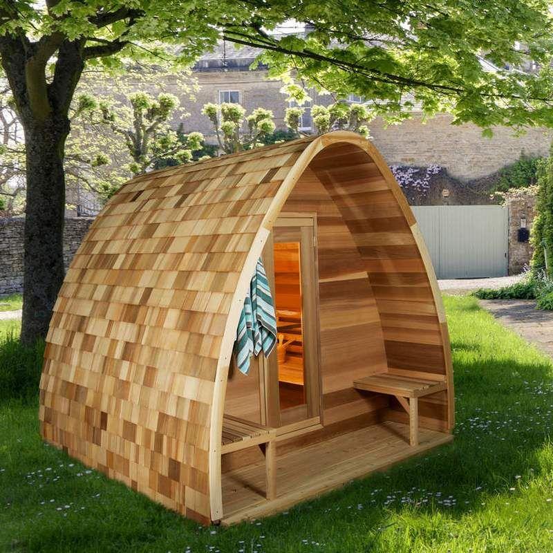 Dundalk outdoor pod sauna heater included customizable