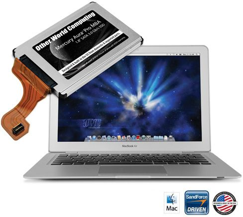 Owners Of Macbook Air Late 2008 To September 2010 Models Can Now Make Their Machines Faster Than The Newest Models By Installing An Ow Ssd Macbook Macbook Air