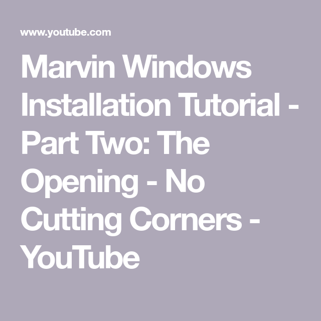 Pin On Marvin Windows And Doors