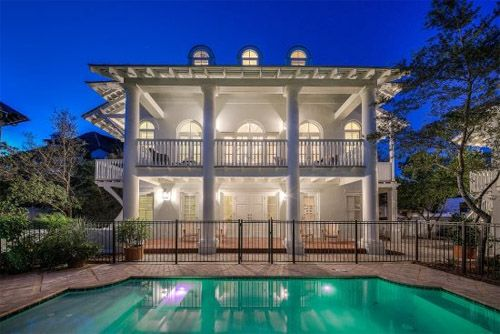 Tennessee Lagniappe Rosemary Beach Vacation Rental House With Private Pool