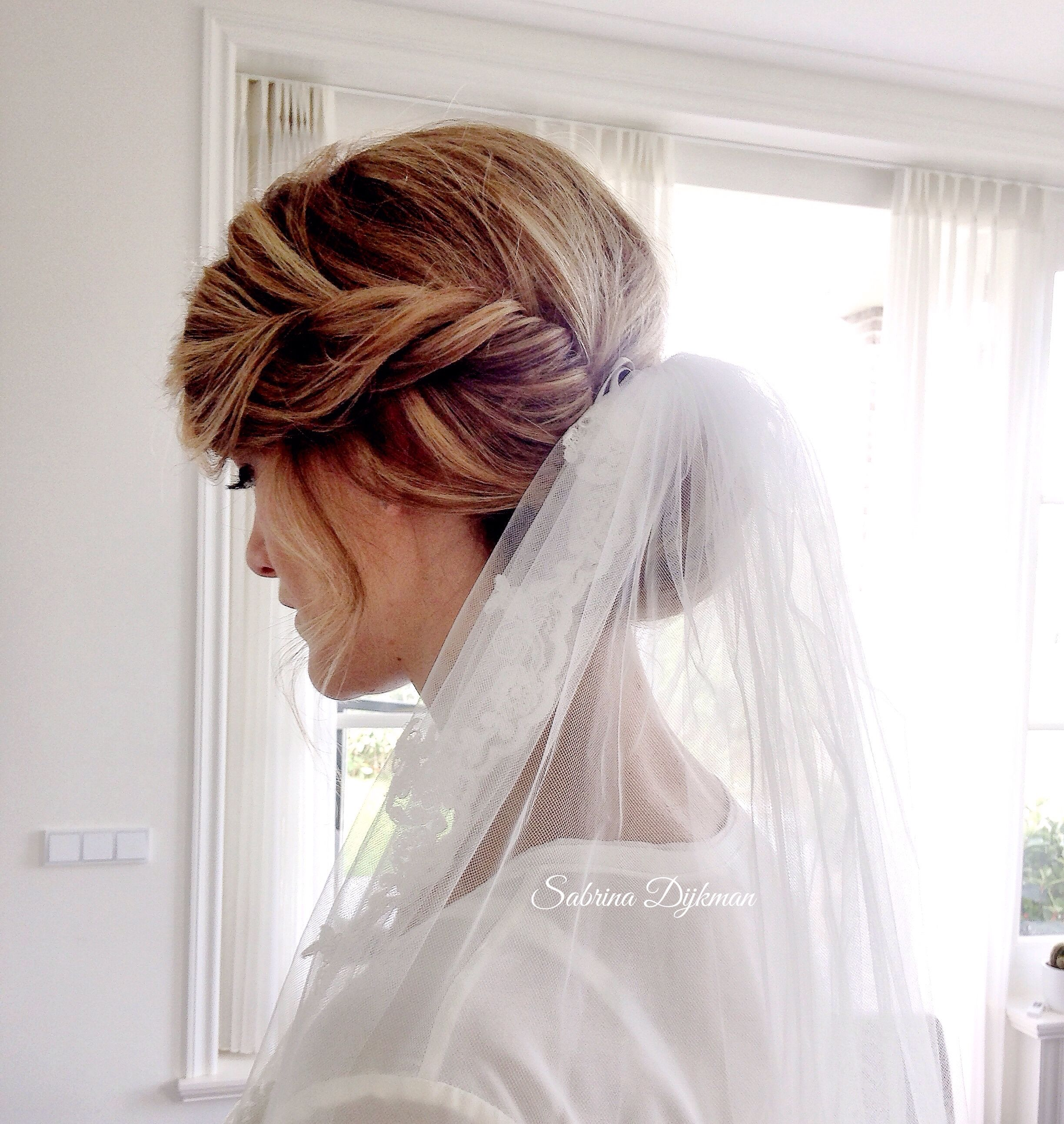 weddingupdo #weddinghair #updo #bridalhair | Bridal Hair & Make up ...