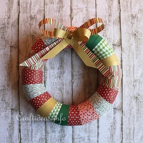 Colorful Christmas Wreath 1 Wianki Pinterest Wreaths
