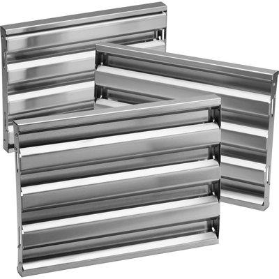 Broan Range Hood Optional Baffle Filter Kit Size 45 W Stainless Range Hood Range Hood Filters Stainless Steel Range Hood