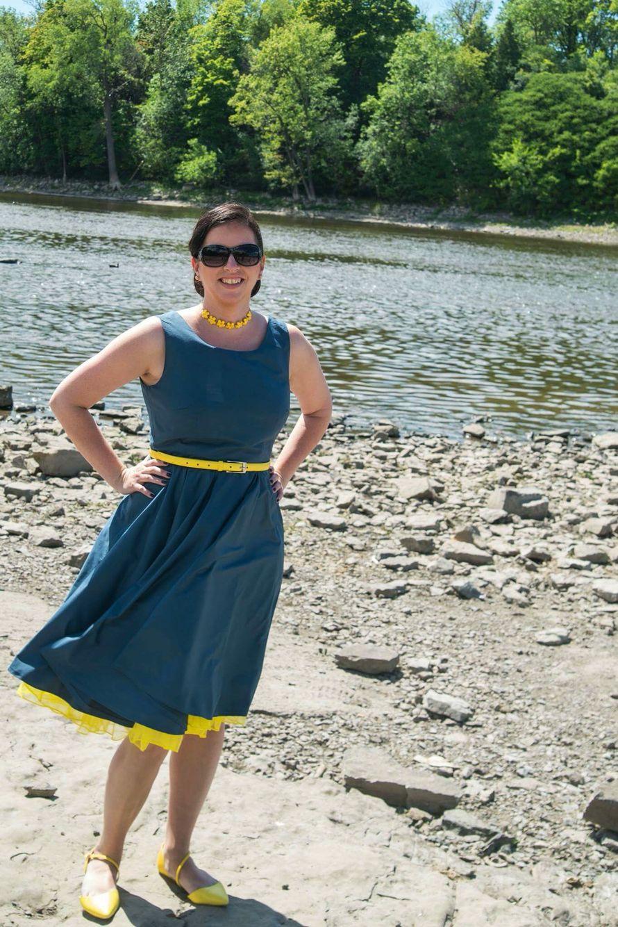 Premier projet couture à moi de moi : robe butterick 5748