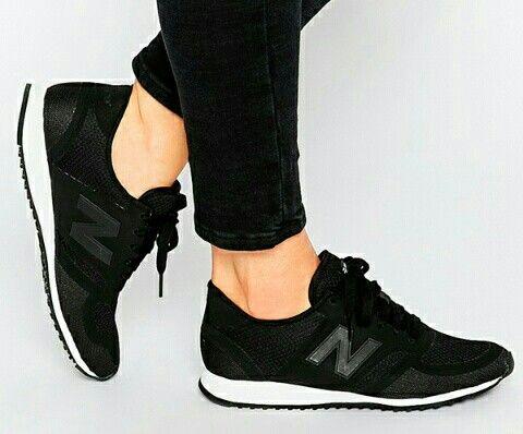 mujer new balance negras 410