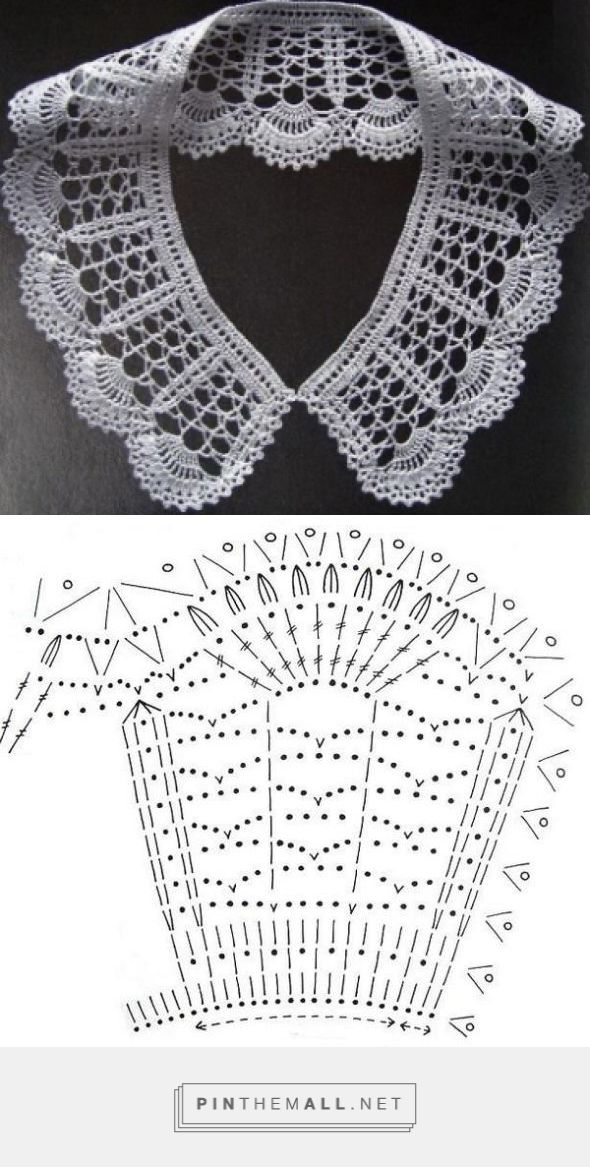 Peter Pan Crochet Collar – Free Pattern ~~ Cuellos a Crochet ...
