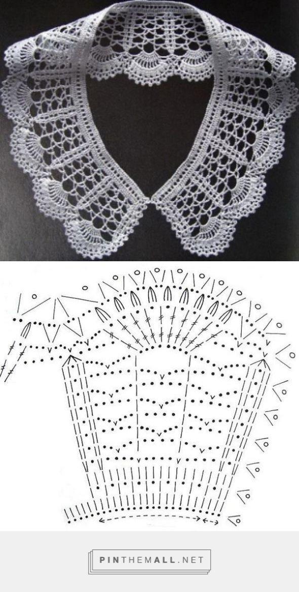 Peter Pan Crochet Collar – Free Pattern ~~ Cuellos a Crochet ...