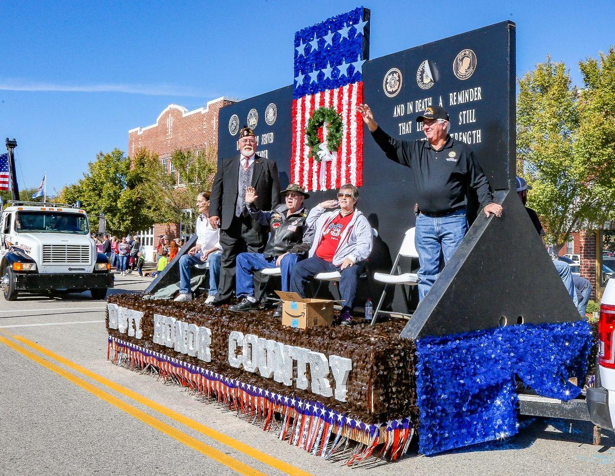 Veterans Day Duty Honor Country Patriotic Parade Float Ideas